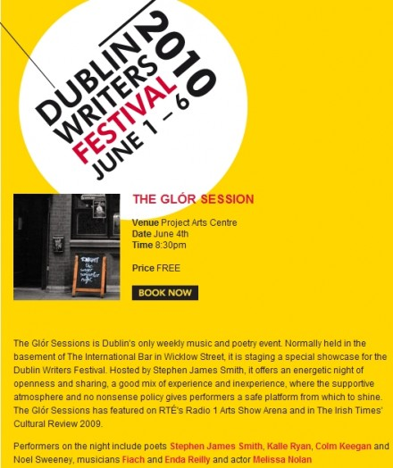 Dublin Writers Festival