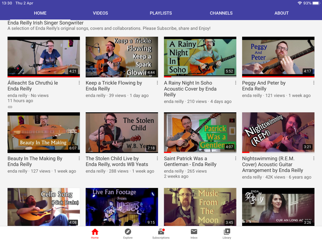 New Videos On Youtube – Please Subscribe!